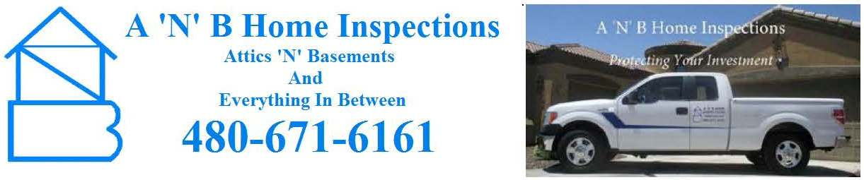 A 'N' B Home Inspections Logo